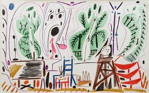 Carnet de Californie 27 by Pablo Picasso