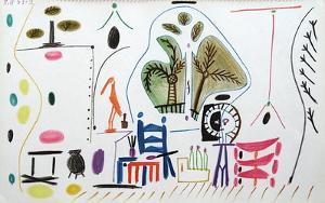 Carnet de Californie 28 by Pablo Picasso