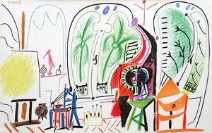 Carnet de Californie 31 by Pablo Picasso