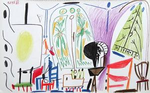 Carnet de Californie 32 by Pablo Picasso