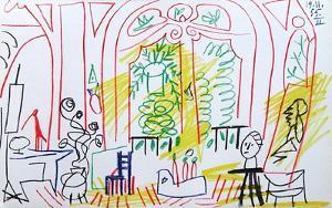 Carnet de Californie 37 by Pablo Picasso