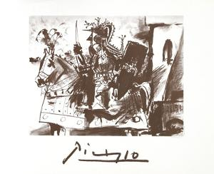 Cavalier en Armure by Pablo Picasso