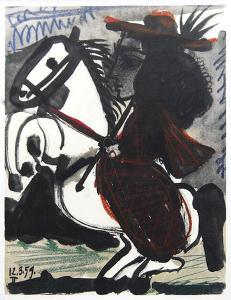 Cavalier by Pablo Picasso