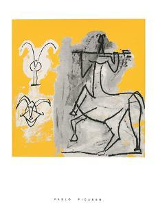 Centaur with Trident by Pablo Picasso