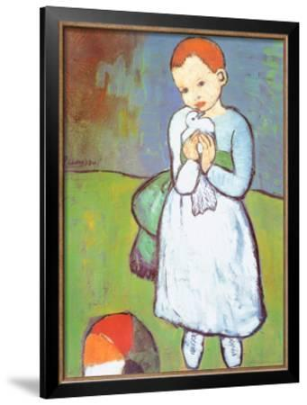 Child with a Dove, c.1901 by Pablo Picasso