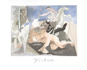 Composition by Pablo Picasso