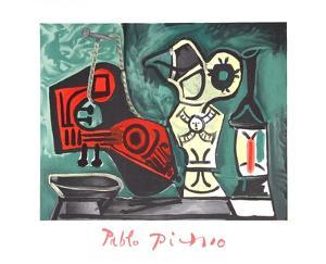 Compotition a la Mandoline by Pablo Picasso
