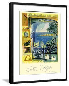 Cote d'Azur - Picasso's Studio Pigeons Velazquez by Pablo Picasso