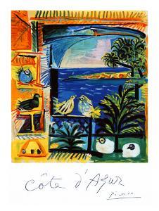 Cote d'Azur by Pablo Picasso