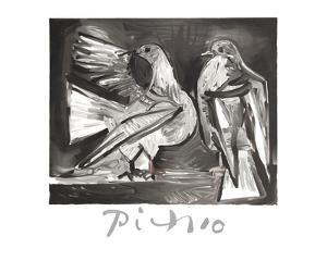 Deux Pigeons by Pablo Picasso