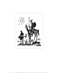 Don Quixote, c.1955 by Pablo Picasso