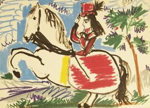 Equestrian-Cavalliere by Pablo Picasso
