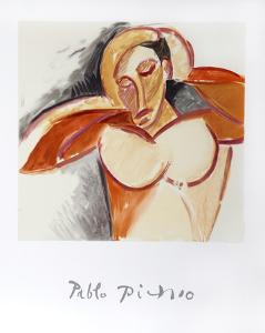 Etude pour le Nu, 13-A-k by Pablo Picasso