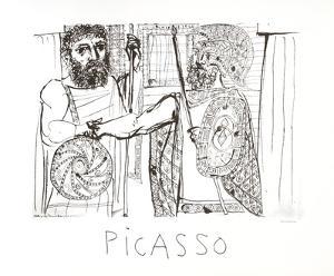 Etude pour Lesistratas by Pablo Picasso