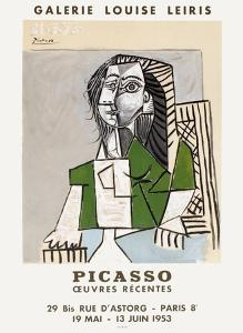 Expo 53 - Galerie Louise Leiris by Pablo Picasso