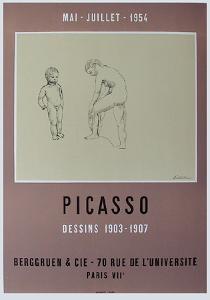 Expo 54 - Galerie Berggruen by Pablo Picasso