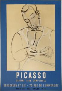 Expo 56 - Berggruen et Cie by Pablo Picasso