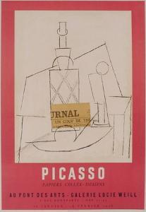 Expo 56 - Galerie Lucie Weill by Pablo Picasso