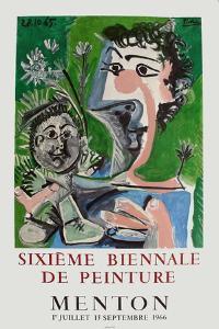 Expo 66 - Biennale de Menton by Pablo Picasso