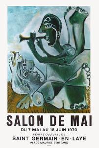 Expo 70 - Salon de Mai by Pablo Picasso