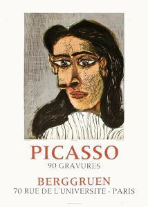 Expo 71 - Berggruen by Pablo Picasso