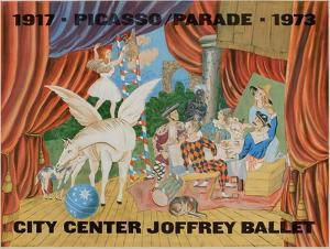 Expo 73 - City Center Joffrey Ballet by Pablo Picasso