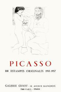 Expo 73 - Galerie Guiot by Pablo Picasso