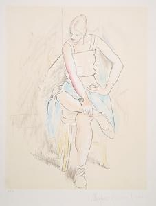 Femme Assise, 29-2 by Pablo Picasso