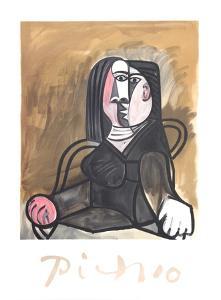 Femme Assise dans un Fateuil by Pablo Picasso
