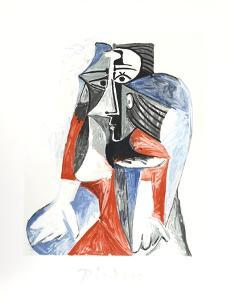 Femme Assise by Pablo Picasso
