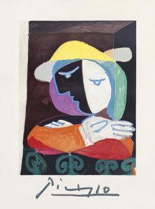 Femme au Balcon by Pablo Picasso