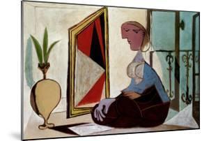 Femme au Miroir by Pablo Picasso