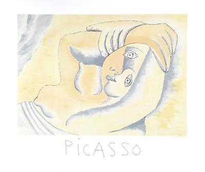 Femme Couchee by Pablo Picasso