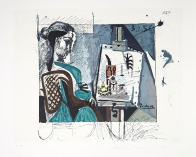 Femme Dans L'Atelier, J-129