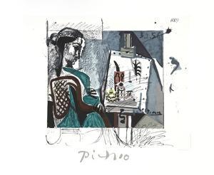 Femme Dans L'Atelier by Pablo Picasso