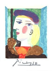 Femme Profile by Pablo Picasso