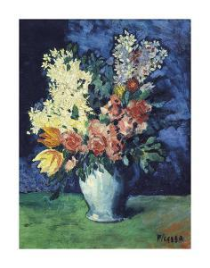 Flowers, 1901 by Pablo Picasso