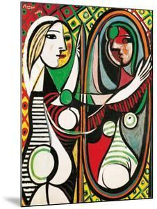 Girl Before a Mirror, c.1932 by Pablo Picasso