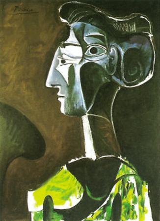 Grand Profil, 1963 by Pablo Picasso