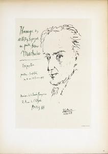 Homage to Antonio Machado by Pablo Picasso