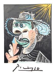 Homme Au Cornet by Pablo Picasso