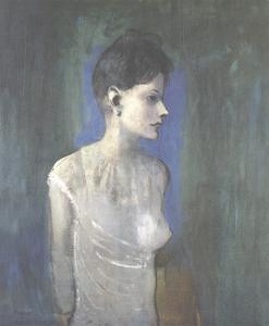 Jeune Femme en Chemise by Pablo Picasso