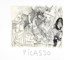 Jeux de Pages by Pablo Picasso