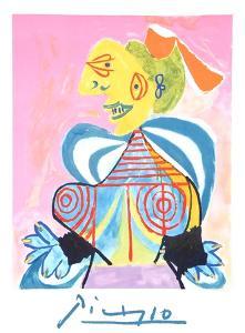 L'Alesienne by Pablo Picasso