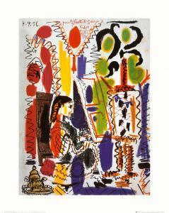 L'Atelier a Cannes by Pablo Picasso