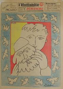 L'Humanité Dimanche by Pablo Picasso