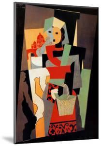 L'Italienne, c.1917 by Pablo Picasso