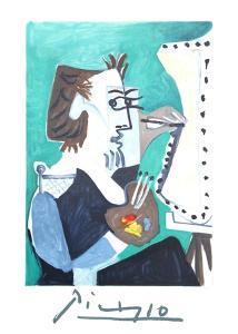 La Peintre by Pablo Picasso