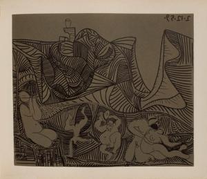 LC - Bacchanale au hibou by Pablo Picasso