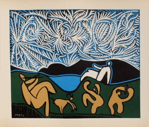 LC - Bacchanale III by Pablo Picasso